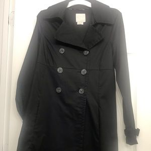 Gently used Old navy black coat